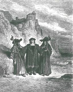 L'Huitre et les Plaideurs. Source : http://data.abuledu.org/URI/519c894b-l-huitre-et-les-plaideurs