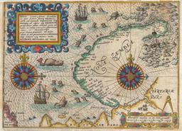 L'île de Nouvelle Zemble en 1601. Source : http://data.abuledu.org/URI/52a7354b-l-ile-de-nouvelle-zemble-en-1601
