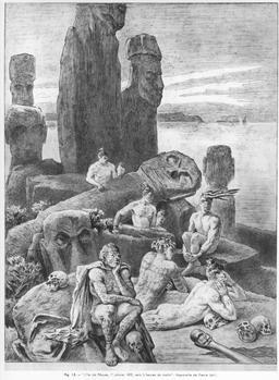 L'île de Pâques par Pierre Loti en 1872. Source : http://data.abuledu.org/URI/54ecf5ce-l-ile-de-paques-par-pierre-loti-en-1872