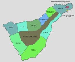 L'île de Ténérife avant la conquête espagnole. Source : http://data.abuledu.org/URI/52d17ec5-l-ile-de-tenerife-avant-la-conquete-espagnole