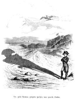 L'ombre de Napoléon. Source : http://data.abuledu.org/URI/534fbc09-l-ombre-de-napoleon