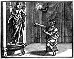 L'oracle et l'impie. Source : http://data.abuledu.org/URI/510c332d-l-oracle-et-l-impie