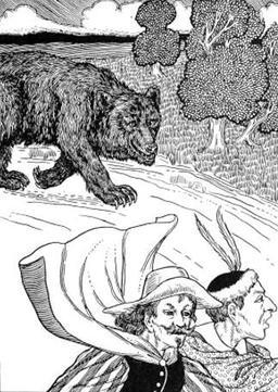 L'Ours et les deux Compagnons. Source : http://data.abuledu.org/URI/519ce9f7-l-ours-et-les-deux-compagnons