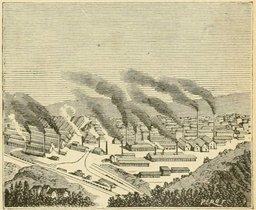 L'usine du Creusot. Source : http://data.abuledu.org/URI/524d93ea-l-usine-du-creusot