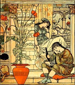 La belle au bois dormant. Source : http://data.abuledu.org/URI/56543dd7-la-belle-au-bois-dormant