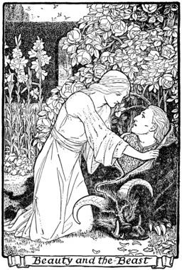 La Belle et la Bête, conte de Grimm. Source : http://data.abuledu.org/URI/50d35bc3-la-belle-et-la-bete-conte-de-grimm