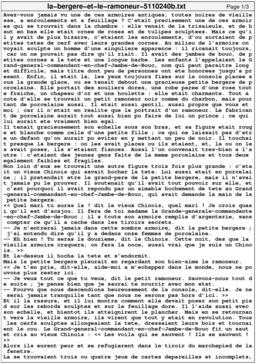 La bergère et le ramoneur. Source : http://data.abuledu.org/URI/5110240b-la-bergere-et-le-ramoneur