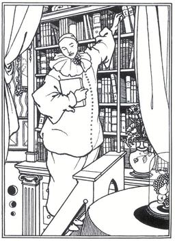 La bibliothèque de Pierrot. Source : http://data.abuledu.org/URI/5102fdb1-la-bibliotheque-de-pierrot
