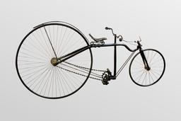 La bicyclette de H.J.Lawson. Source : http://data.abuledu.org/URI/56531bde-la-bicyclette-de-h-j-lawson