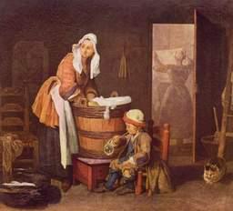 La blanchisseuse. Source : http://data.abuledu.org/URI/502055db-la-blanchisseuse