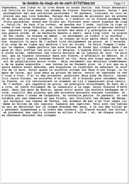 La brebis, le loup et le cerf. Source : http://data.abuledu.org/URI/517d7dea-la-brebis-le-loup-et-le-cerf