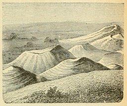 La chaîne des Puys en Auvergne. Source : http://data.abuledu.org/URI/524d9edc-la-chaine-des-puys-en-auvergne