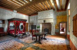 La chambre de Léonard de Vinci au Clos Lucé. Source : http://data.abuledu.org/URI/54b99006-la-chambre-de-leonard-de-vinci-au-clos-luce