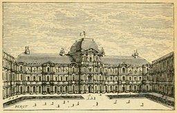 La cour du Louvre. Source : http://data.abuledu.org/URI/524f19e6-la-cour-du-louvre