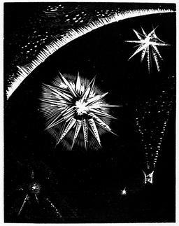 La création des étoiles. Source : http://data.abuledu.org/URI/5929efb0-la-creation-des-etoiles