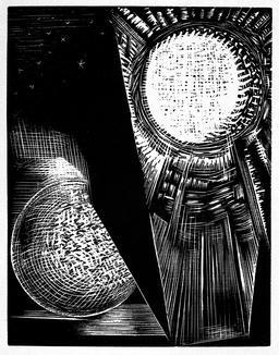 La création du Soleil et de la Lune. Source : http://data.abuledu.org/URI/5929ee98-la-creation-du-soleil-et-de-la-lune