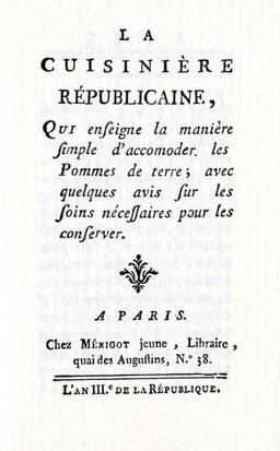 La Cuisinière républicaine. Source : http://data.abuledu.org/URI/51a622ca-la-cuisiniere-republicaine
