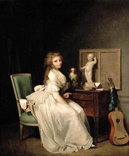 La Dame à la guitare. Source : http://data.abuledu.org/URI/51d93b77-la-dame-a-la-guitare