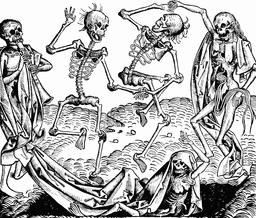 La Danse macabre. Source : http://data.abuledu.org/URI/529528d8-la-danse-macabre