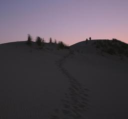 La Dune du Pilat le soir. Source : http://data.abuledu.org/URI/55ee2147-la-dune-du-pilat-le-soir