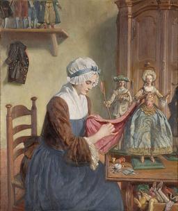 La fabricante de poupées. Source : http://data.abuledu.org/URI/501b95f6-la-fabricante-de-poupees-
