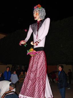 La fée Befana géante de Chipilo au Mexique. Source : http://data.abuledu.org/URI/52bd4770-la-fee-befana-geante-de-chipilo-au-mexique