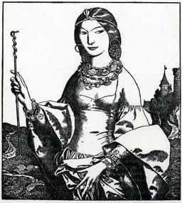 La fée Viviane en 1903. Source : http://data.abuledu.org/URI/5950aeca-la-fee-viviane-en-1903