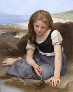 La fille au crabe. Source : http://data.abuledu.org/URI/517ebc52-la-fille-au-crabe
