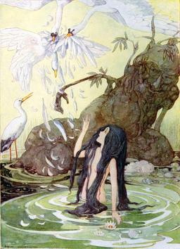La fille du roi des marais. Source : http://data.abuledu.org/URI/51125b6a-la-fille-du-roi-des-marais