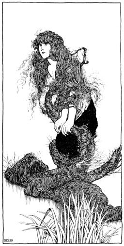 La fille du roi des marais d'Andersen. Source : http://data.abuledu.org/URI/54af158a-la-fille-du-roi-des-marais-d-andersen