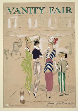 La foire aux vanités en juin 1914. Source : http://data.abuledu.org/URI/5369b549-la-foire-aux-vanites-en-juin-1914