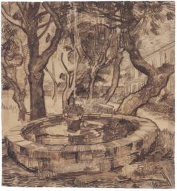 La fontaine du jardin de l'asile. Source : http://data.abuledu.org/URI/55149041-la-fontaine-du-jardin-de-l-asile