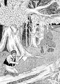 La Forêt et le Bûcheron. Source : http://data.abuledu.org/URI/519cb7a6-la-foret-et-le-bucheron