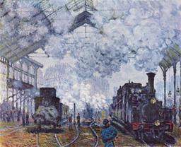 La gare Saint-Lazare en 1877. Source : http://data.abuledu.org/URI/50dce5e0-la-gare-saint-lazare-en-1877
