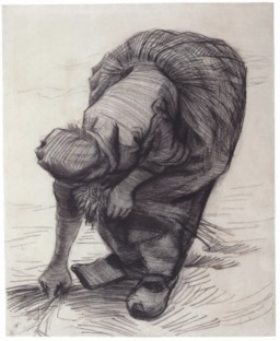 La glaneuse en sabots en 1885. Source : http://data.abuledu.org/URI/5515c091-la-glaneuse-en-sabots-en-1885