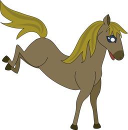 La grande course - Cheval bondissant. Source : http://data.abuledu.org/URI/555fc98f-la-grande-course-cheval-bondissant