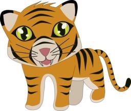 La grande course - Tigre. Source : http://data.abuledu.org/URI/555fca96-la-grande-course-tigre