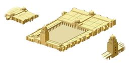 La Grande Mosquée de Kairouan. Source : http://data.abuledu.org/URI/50814cea-la-grande-mosquee-de-kairouan