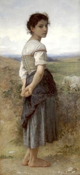 La jeune bergère. Source : http://data.abuledu.org/URI/5101c9f5-la-jeune-bergere