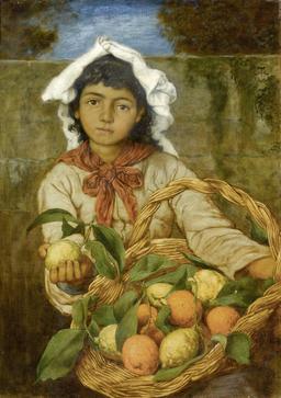 La jeune marchande de citrons en 1880. Source : http://data.abuledu.org/URI/5336824f-la-jeune-marchande-de-citrons-en-1880
