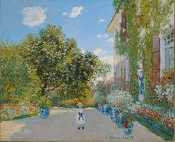 La maison d'Argenteuil. Source : http://data.abuledu.org/URI/5019cf31-la-maison-d-argenteuil