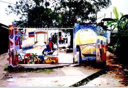 La maison des deux chemins à Douala. Source : http://data.abuledu.org/URI/52dabe96-la-maison-des-deux-chemins-a-douala