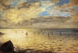 La mer à Dieppe. Source : http://data.abuledu.org/URI/51a4f421-la-mer-a-dieppe