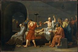 La mort de Socrate. Source : http://data.abuledu.org/URI/50502f79-la-mort-de-socrate