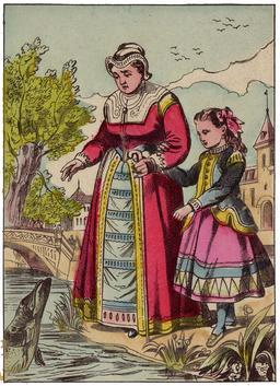 La Petite aux grelots 05. Source : http://data.abuledu.org/URI/53482020-la-petite-aux-grelots-05