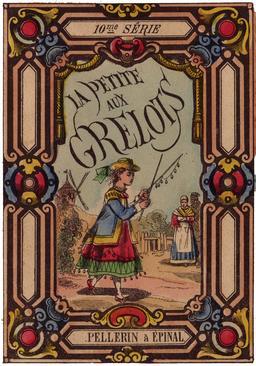 La Petite aux grelots, titre. Source : http://data.abuledu.org/URI/53481940-la-petite-aux-grelots-titre