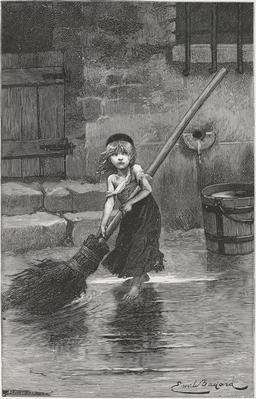 La petite Cosette en 1862. Source : http://data.abuledu.org/URI/58cb3026-la-petite-cosette-en-1862