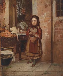 La petite marchande de Venise en 1872. Source : http://data.abuledu.org/URI/58cb2726-la-petite-marchande-de-venise-en-1872