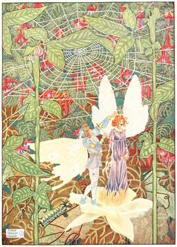 La Petite Poucette d'Andersen en 1914. Source : http://data.abuledu.org/URI/53ca5870-la-petite-poucette-d-andersen-en-1914