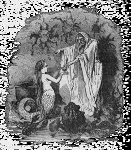 La petite sirène d'Andersen. Source : http://data.abuledu.org/URI/5110f678-la-petite-sirene-d-andersen
